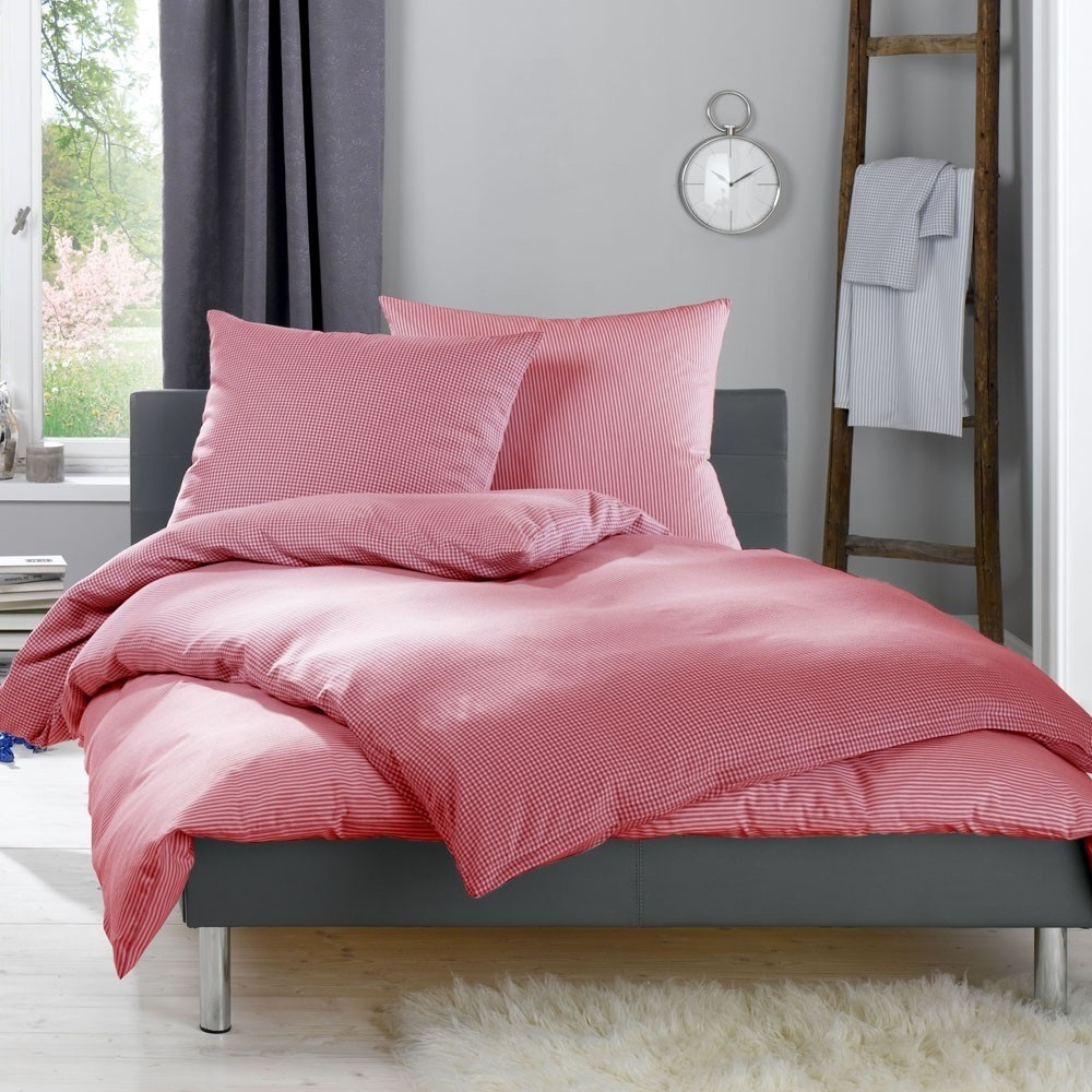 lorena rote flanell bettw sche daphne www wunschbettw. Black Bedroom Furniture Sets. Home Design Ideas