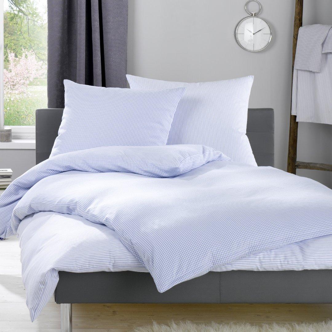 lorena hellblaue flanell bettw sche daphne wunschbettw. Black Bedroom Furniture Sets. Home Design Ideas