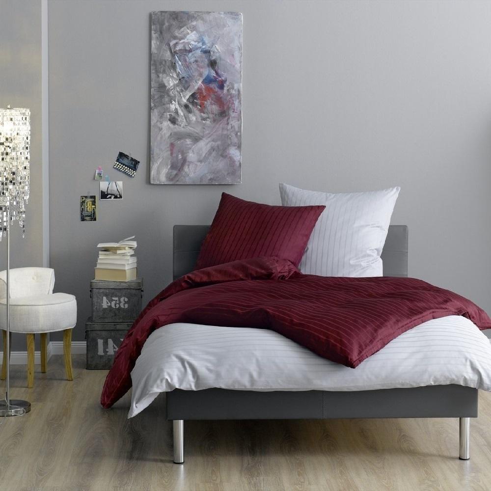 lorena weisse blockstreifen bettw sche verona wunschbettw sche. Black Bedroom Furniture Sets. Home Design Ideas