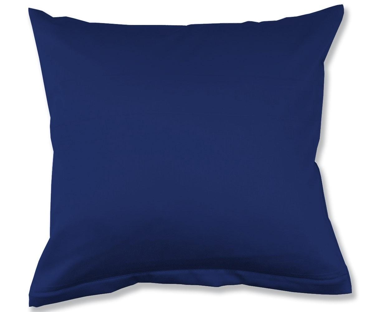 lorena uni satin kissenh llen marine www wunschbettw. Black Bedroom Furniture Sets. Home Design Ideas