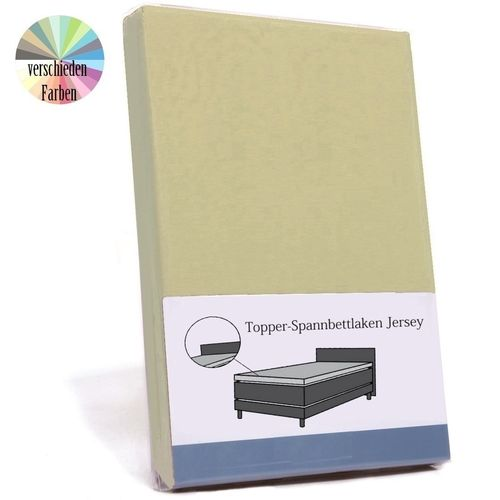 Boxspring Topper Jersey Basic