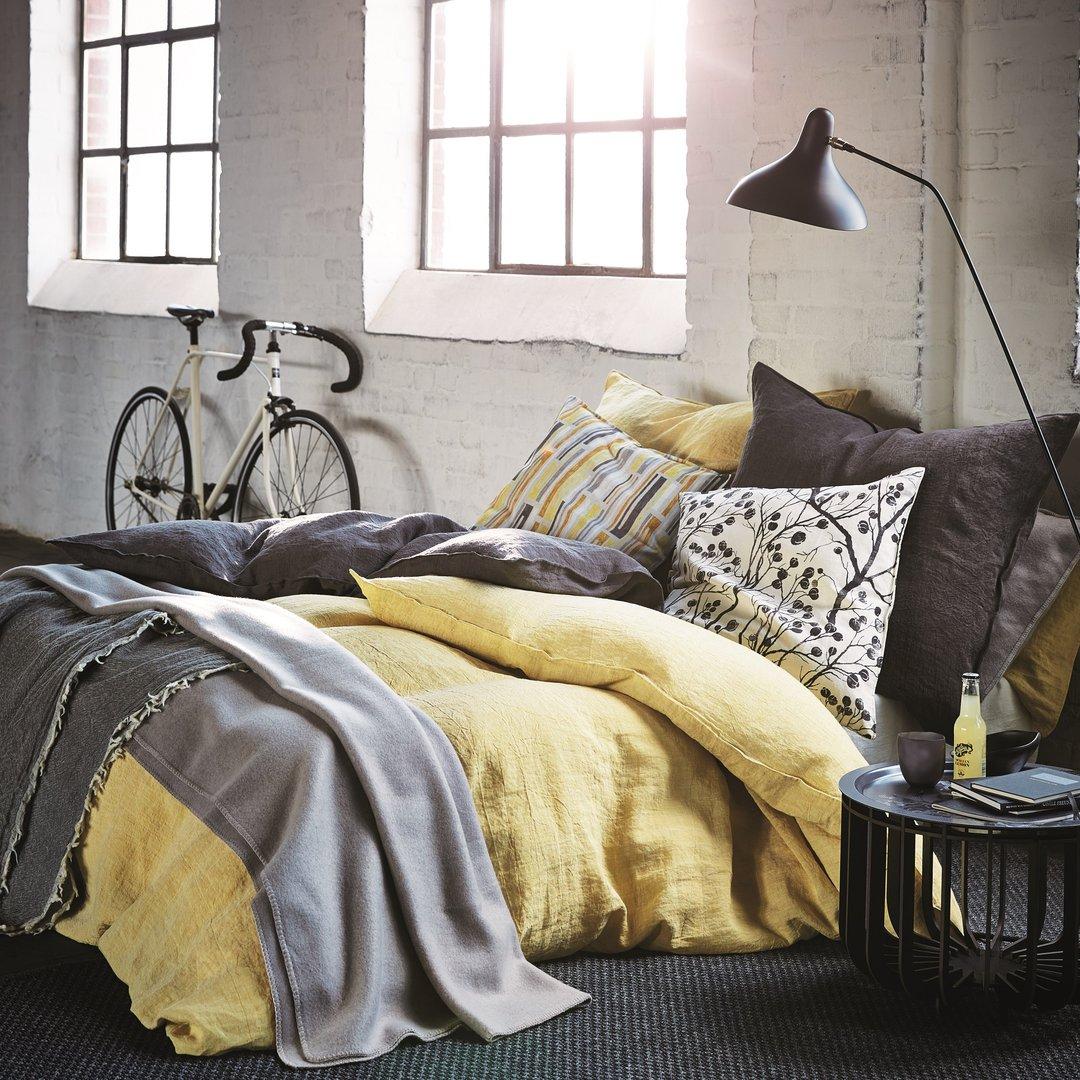 proflax leinen bettw sche vintage washed www. Black Bedroom Furniture Sets. Home Design Ideas