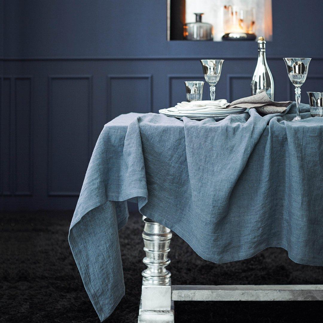 leinen tischdecke washed look 150x250 cm. Black Bedroom Furniture Sets. Home Design Ideas