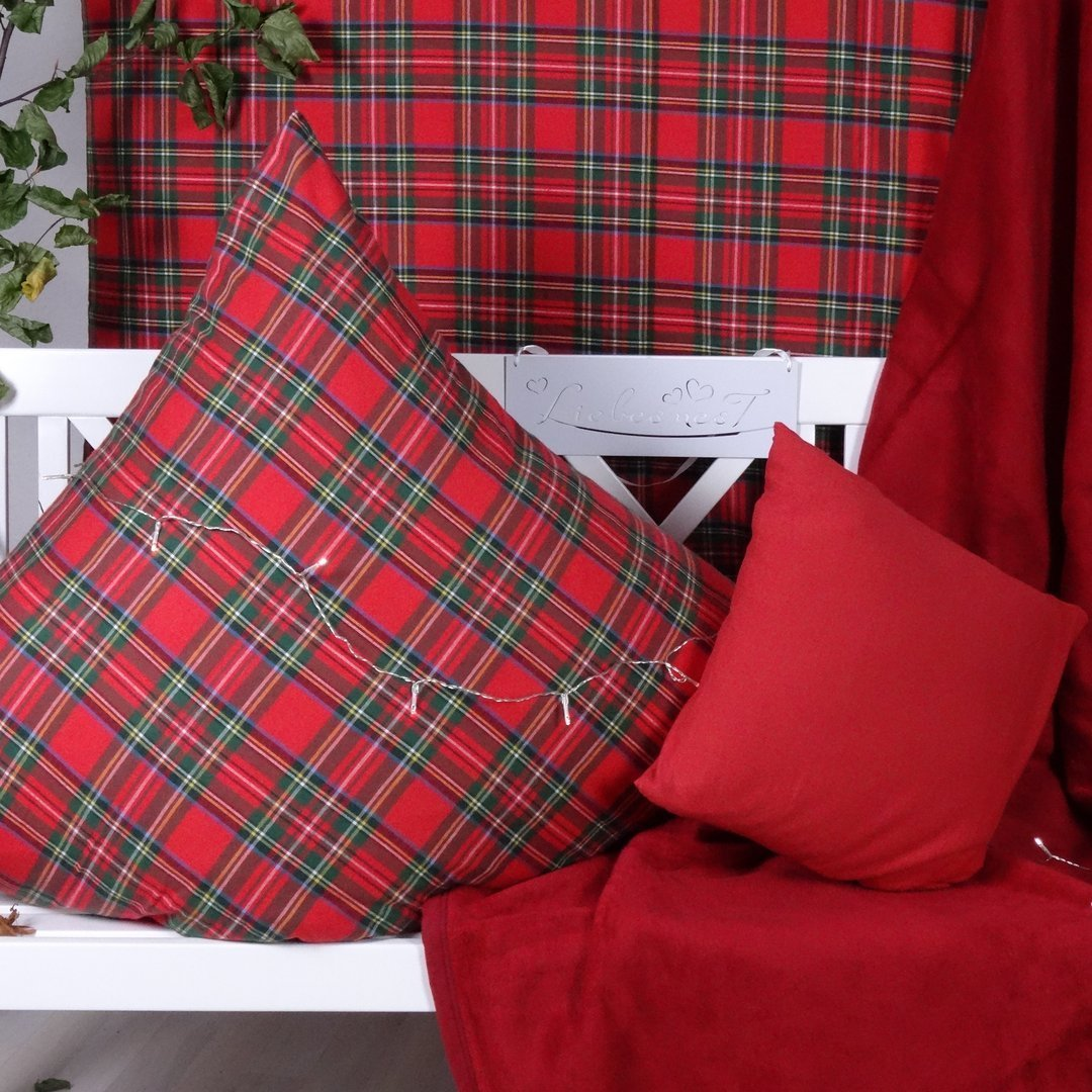 schottenkaro bettw sche edel flanell www wunschbettw. Black Bedroom Furniture Sets. Home Design Ideas