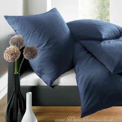 blaue bettw sche uni my blog. Black Bedroom Furniture Sets. Home Design Ideas