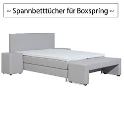 spannbett cher f r boxspringbetten g nstig auf. Black Bedroom Furniture Sets. Home Design Ideas