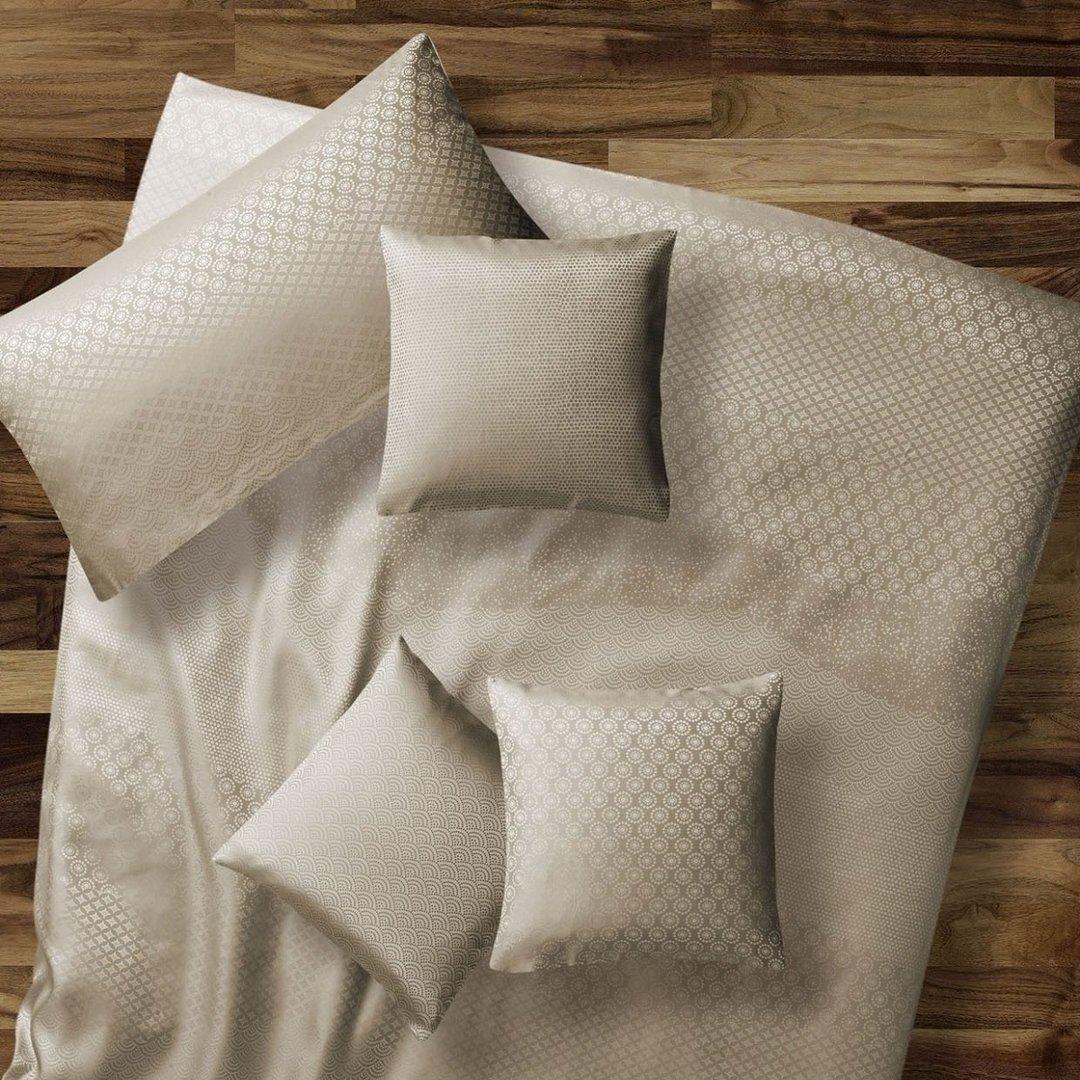 seidenbettw sche barcelona schlamm www wunschbettw. Black Bedroom Furniture Sets. Home Design Ideas