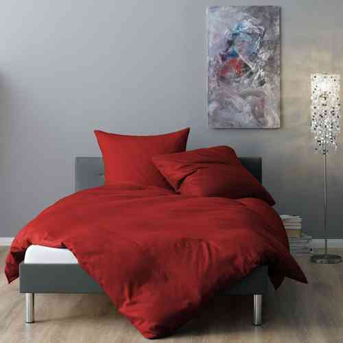 bettw sche satin rot beim fachh ndler online g nstig bestellen. Black Bedroom Furniture Sets. Home Design Ideas