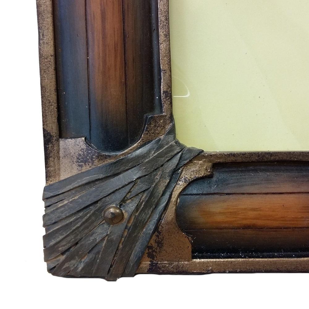 vintage bilderrahmen braun www wunschbettw. Black Bedroom Furniture Sets. Home Design Ideas