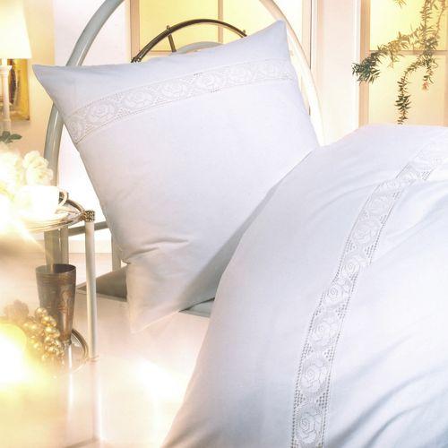 einrichtungsstil bettw sche wei aus baumwolle online kaufen. Black Bedroom Furniture Sets. Home Design Ideas