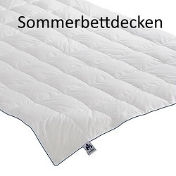 Sommer Bettdecken