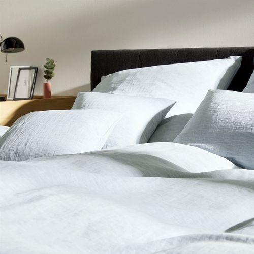 Kinder-Bettwäsche uni Streifen 40x60//100x135 Grün NEU ! aus 100/% Bio-Baumwolle